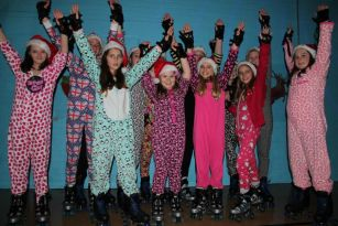 Onesie Roller Disco Girls