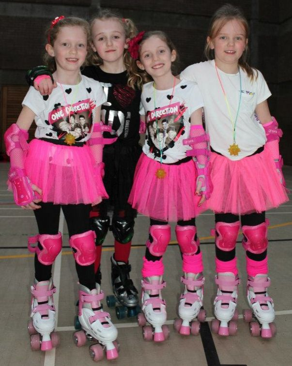 Mini Roller Disco Girls